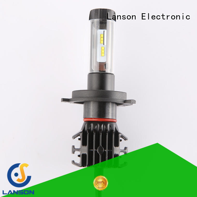 Lanson high quality led auto headlamps design for van