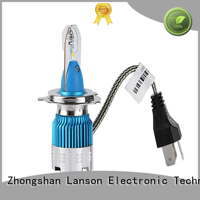 Lanson cost-effective h3 12v 55w led replacement for truck