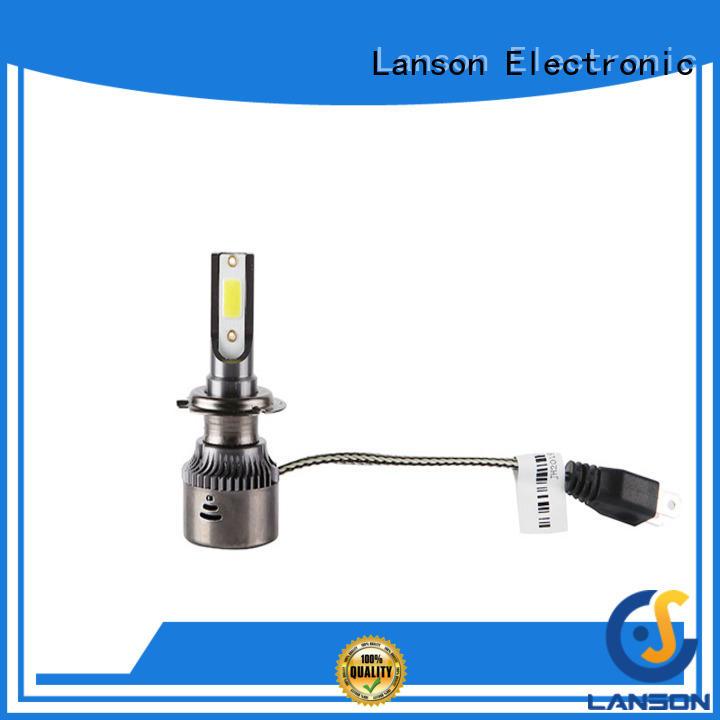 Lanson reliable best headlight bulbs supplier for illumination