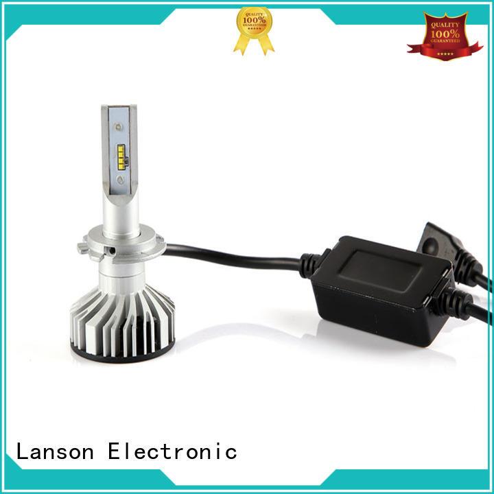 Lanson universal brightest 9006 led headlight bulb directly sale foir lorry