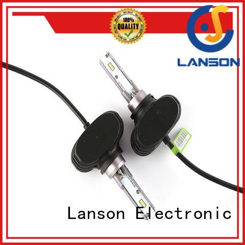 Lanson fanless design h4 car bulb design for truck