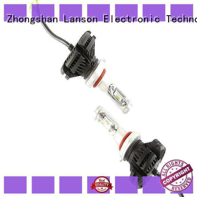 Lanson led x3 headlight manufacturer for vehicles