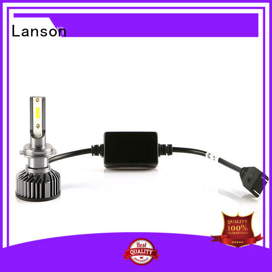 Lanson led replacement headlights directly sale foir lorry
