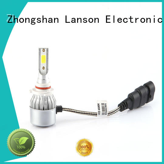 Lanson super bright car led light bulbs wholesale manufacturer foir lorry