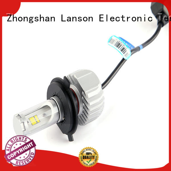 Lanson creative motorcycle led headlight bulb series for van