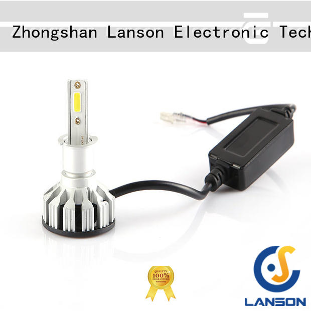 Lanson aviation aluminum auto led lights wholesale series for vehicles