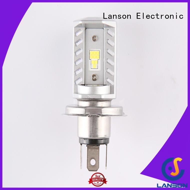 Lanson brightest motorcycle headlight bulbs supplier for illumination