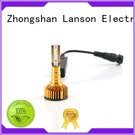 Lanson high quality car led headlight bulbs supplier for truck