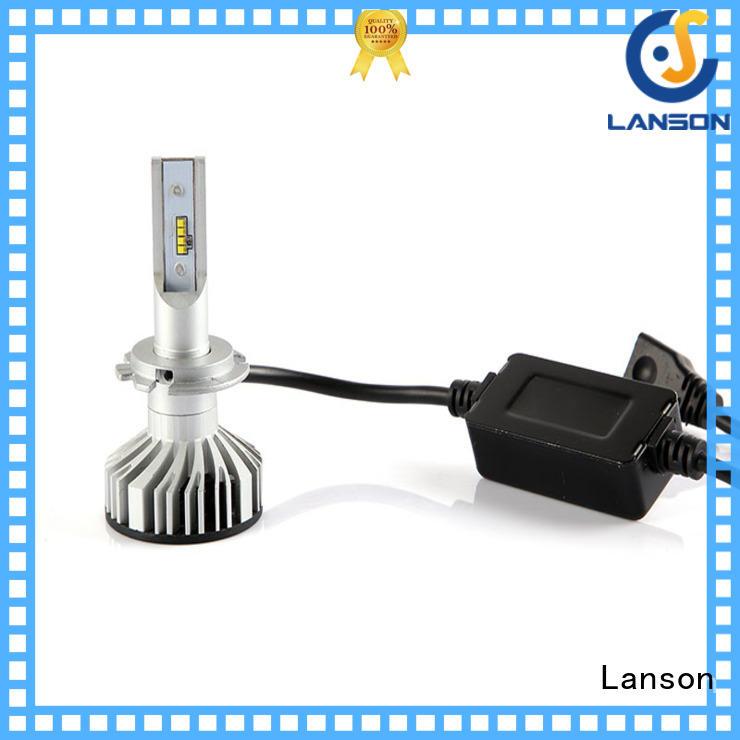 Lanson aviation aluminum brightest led headlight bulbs from China for van