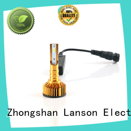 Lanson automotive bulbs led replacement headlights series foir lorry