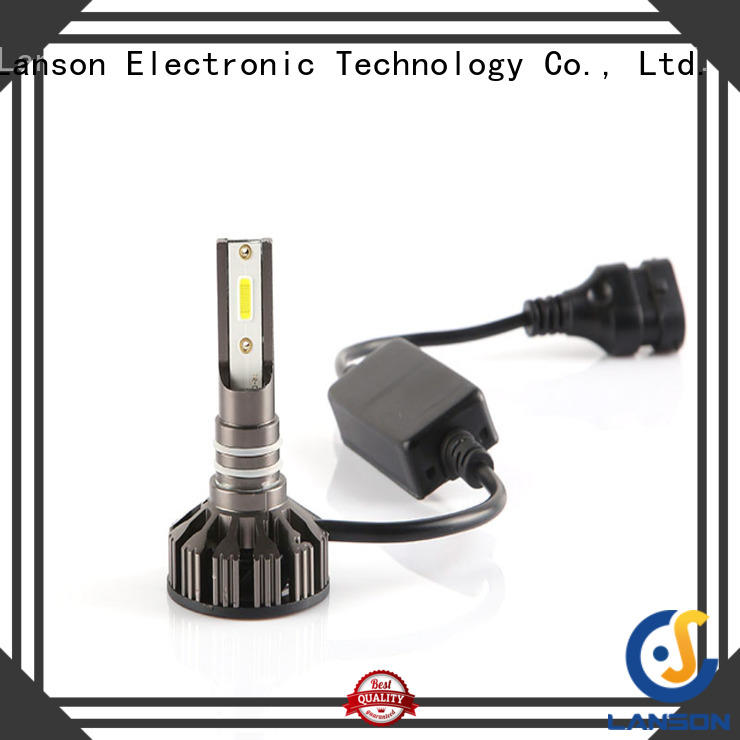 Lanson universal brightest 9006 led headlight bulb from China for vehicles