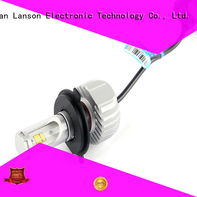Lanson motorcycle led headlight conversion supplier for vehicles