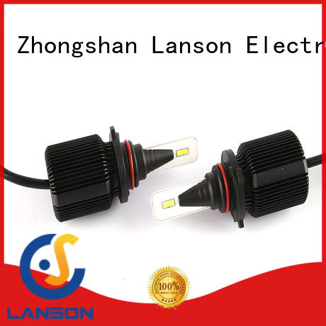 Lanson super slim design 9005 led headlight bulb series for vehicles