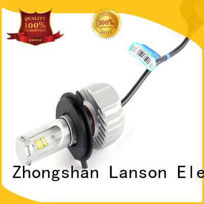 Lanson custom motorcycle headlight factory for illumination