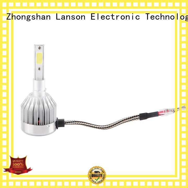 Lanson waterproof auto led light bulbs wholesale foir lorry