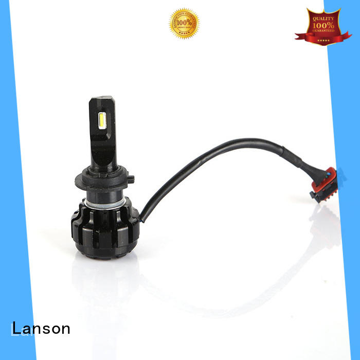 Lanson led headlight h4 c6 series for truck