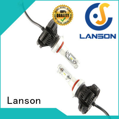 Lanson csp chip x3 led headlight lumileds design foir lorry