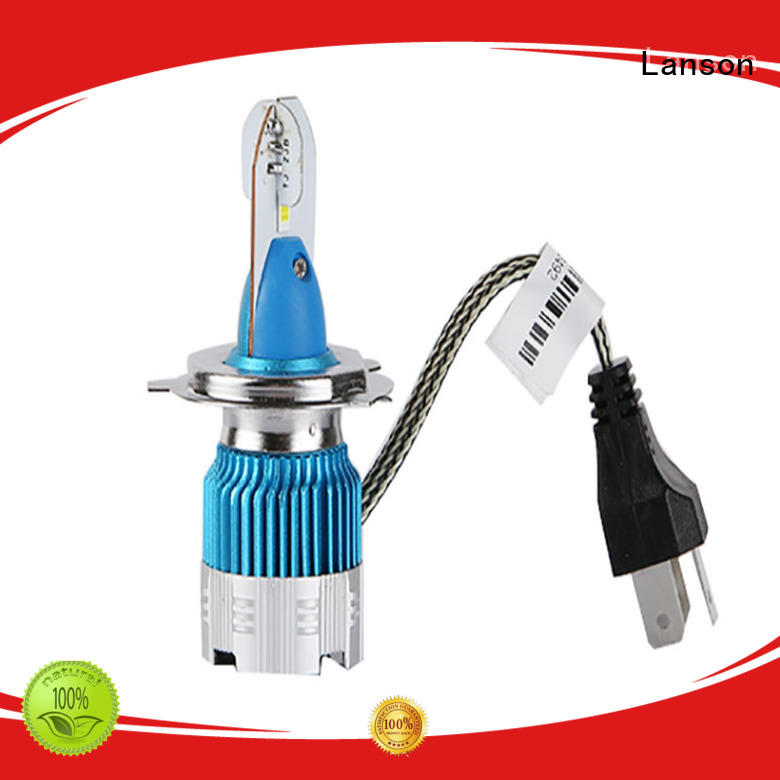 Lanson 9005 and 9006 led headlight bulbs manufacturer for vehicles