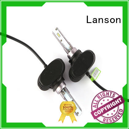 Lanson fanless design best h3 led bulb personalized for vehicles
