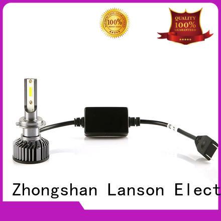 Lanson 8000lm car led headlight bulbs customized for van