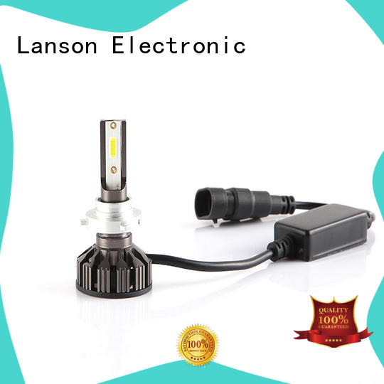 Lanson aviation aluminum brightest 9005 headlight bulb from China for illumination