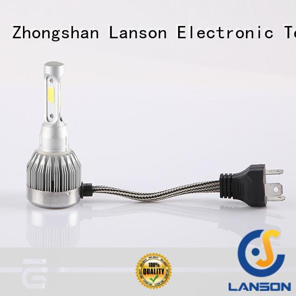 Lanson h4 led motorcycle headlight customized foir lorry