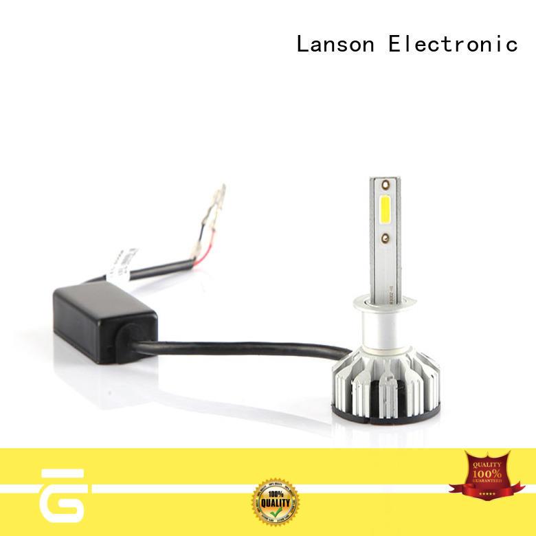 Lanson brightest led headlight bulbs manufacturer for illumination