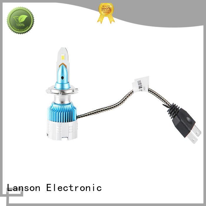 Lanson 9005 and 9006 led headlight bulbs manufacturer foir lorry