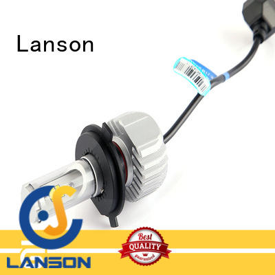 Lanson hot selling motorcycle led headlight conversion factory price for vehicles