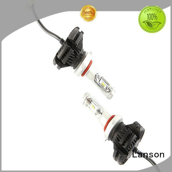 x3 led headlight h4 manufacturer for vehicles Lanson