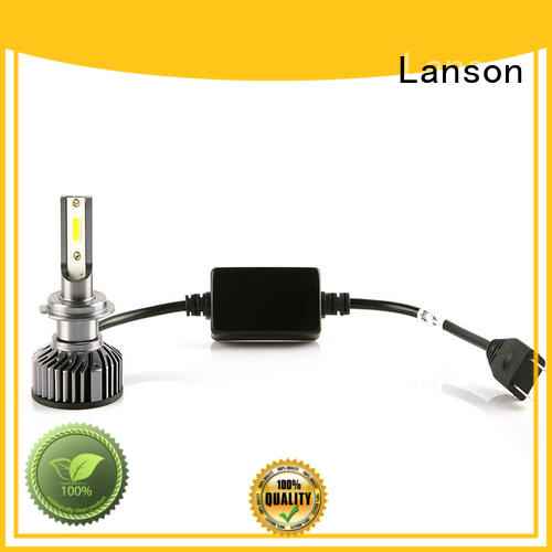 Lanson bulb led replacement headlights customized for van
