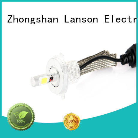 all aluminum ribbon led h4 8000lm customized for vehicles