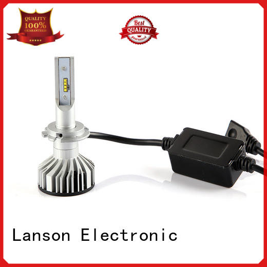 Lanson brightest led headlight bulbs design for van