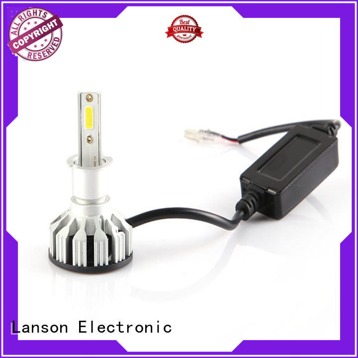 Lanson brightest headlight bulbs manufacturer for van