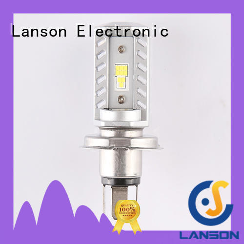 Lanson durable brightest motorcycle headlight bulbs manufacturer for illumination
