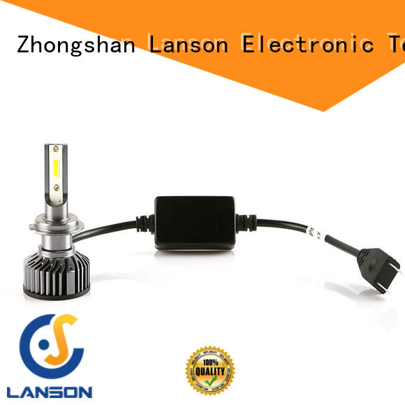 Lanson high quality led replacement headlights manufacturer for van
