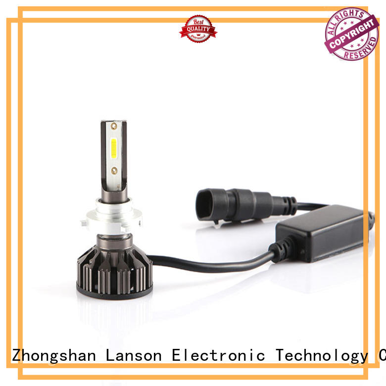 Lanson white 12v h4 led bulb from China foir lorry
