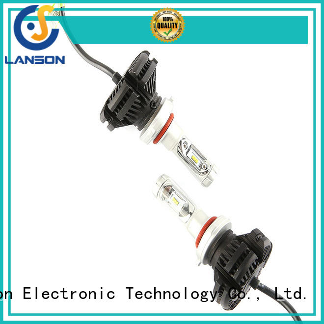 Lanson csp chip led x3 headlight from China for vehicles