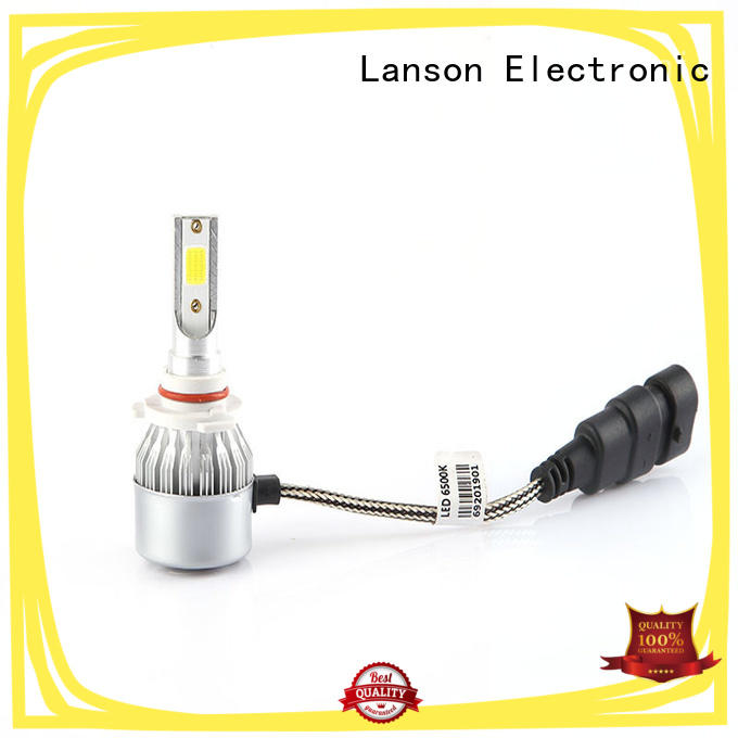 Lanson super bright c6 led headlights h11 manufacturer for vehicles