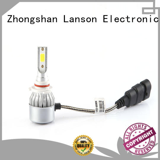 Lanson dual color car led light bulbs wholesale design for illumination