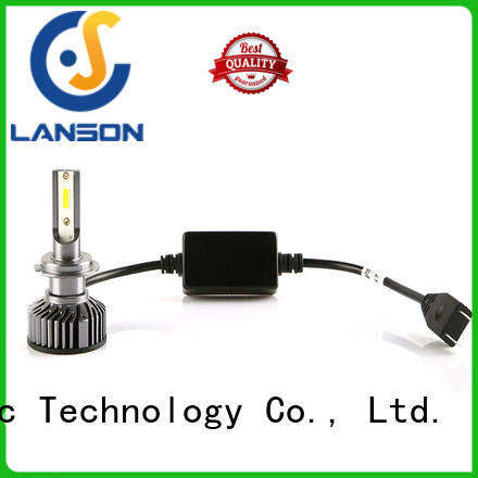 Lanson golden car led headlight bulbs customized for truck