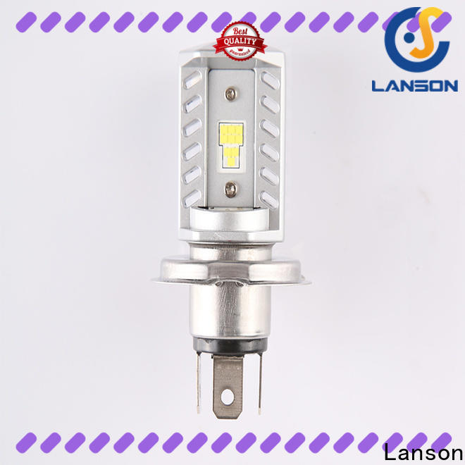 Lanson universal best led headlight for motorcycle factory for illumination