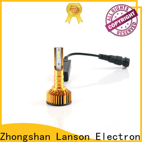 golden car led headlight bulbs directly sale for truck