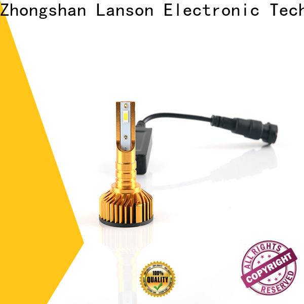 Lanson high quality led replacement headlights manufacturer foir lorry