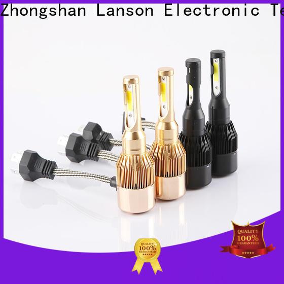 Lanson super bright best led headlight for car supplier for vehicles