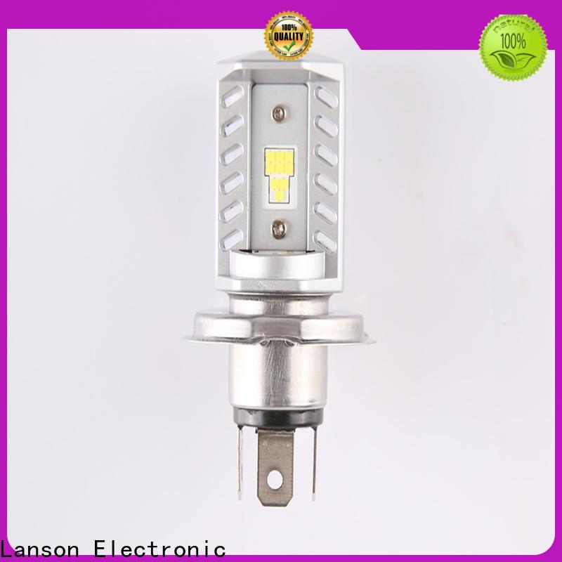 Lanson brightest motorcycle headlight bulbs customized for van