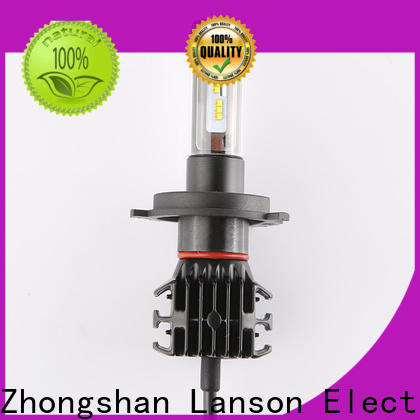 Lanson bulbs led auto headlamps manufacturer for truck