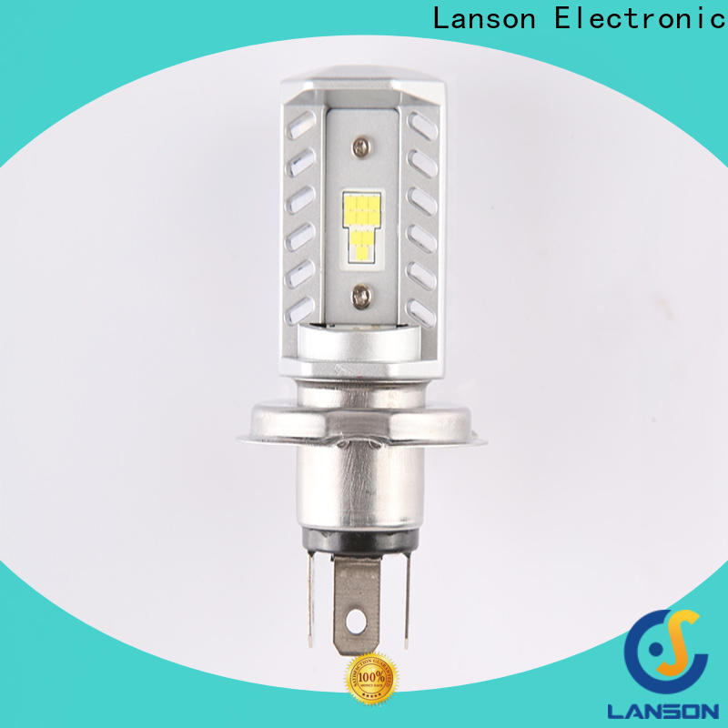 Lanson best led headlight for motorcycle factory for illumination