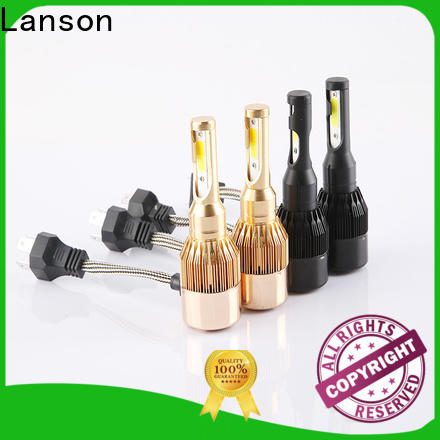 Lanson auto c6 led headlights h11 manufacturer for van