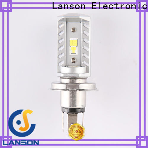 Lanson bulb brightest motorcycle headlight bulbs supplier foir lorry